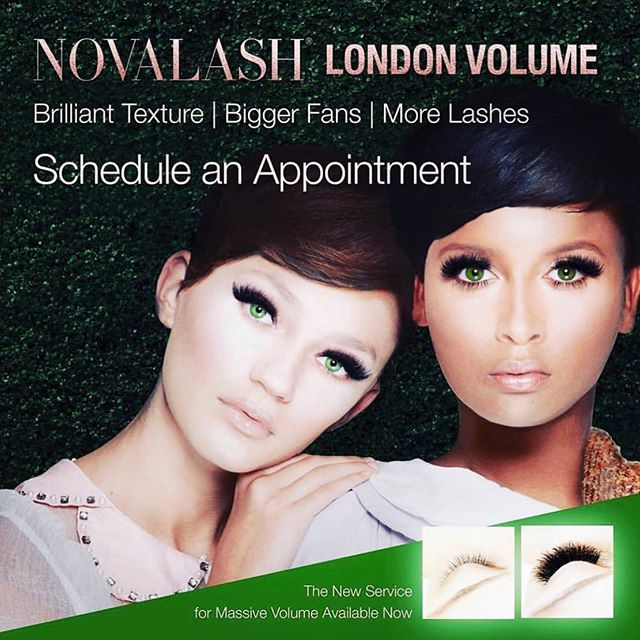 Sometimes Bigger is Better!!! Wanting your lashes with more drama London Volume is for you! ••Now available••