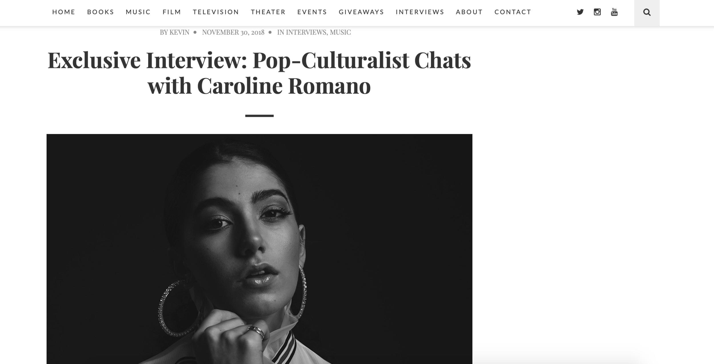 Pop-Culturalist - Interview Feature