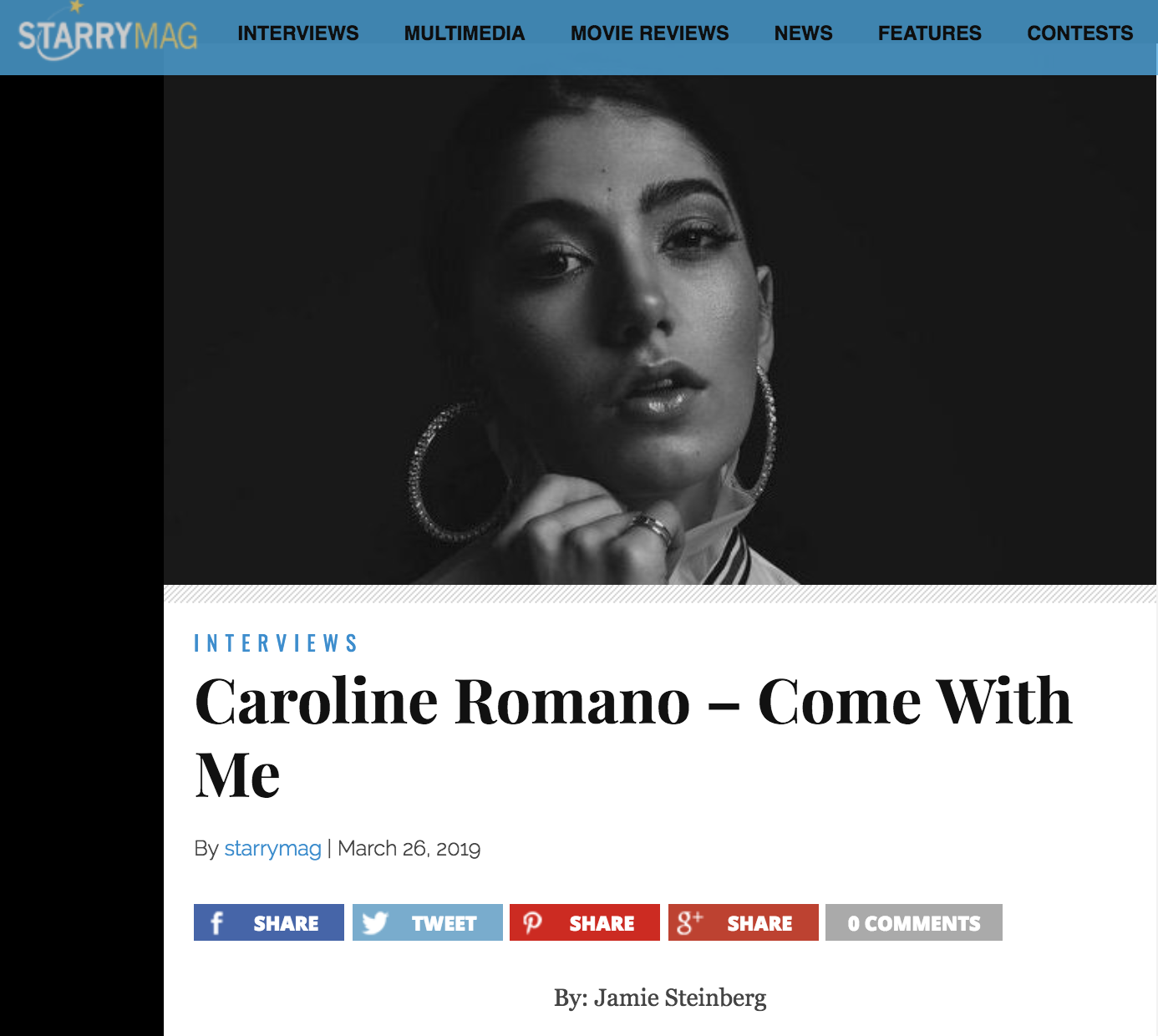 Starry Magazine - Interview Feature
