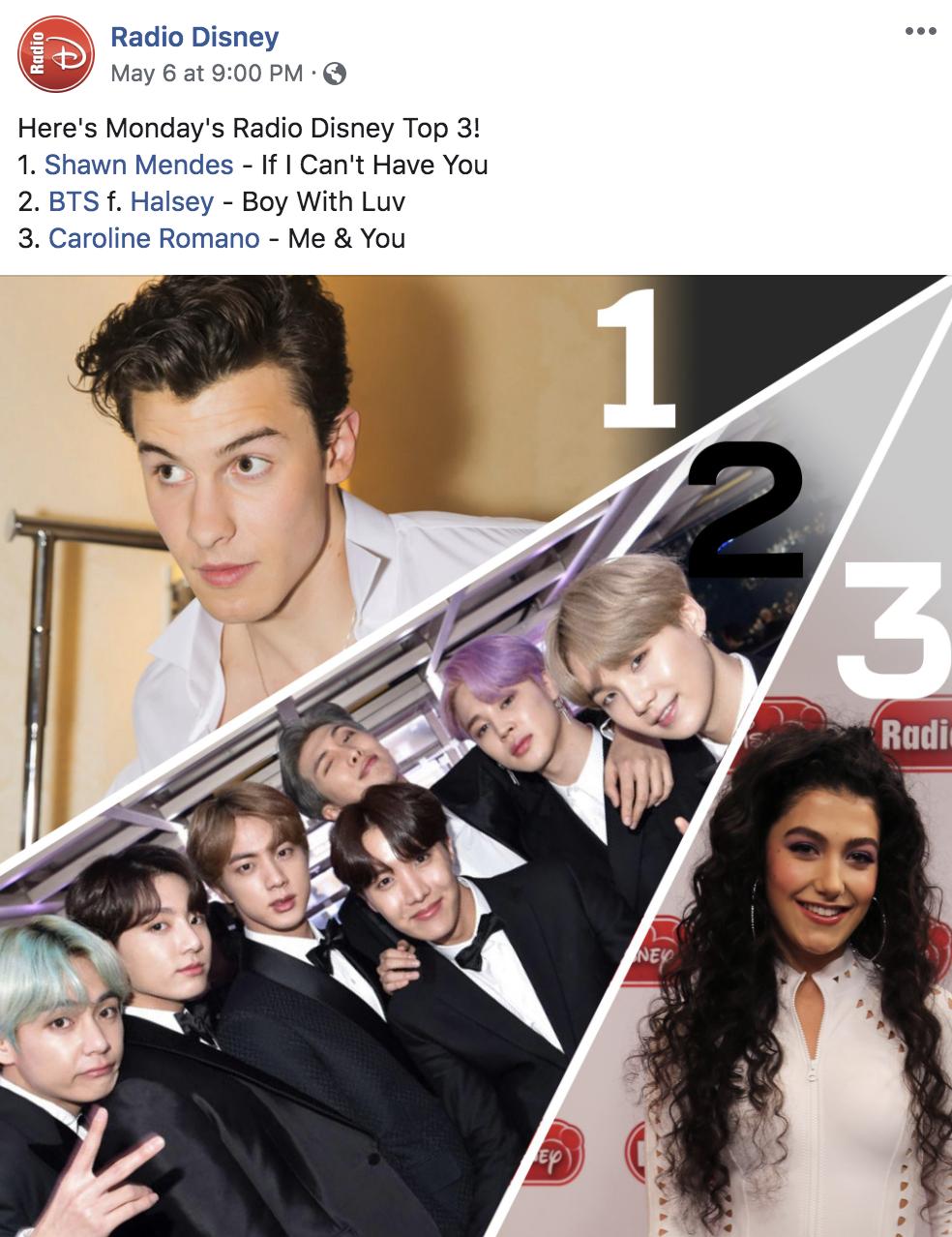 "Radio Disney - ""Me and You"" (Top 3)"