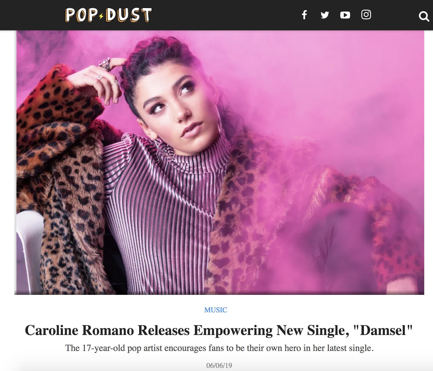 """POPDUST - """"Damsel"""" Single Premiere"""