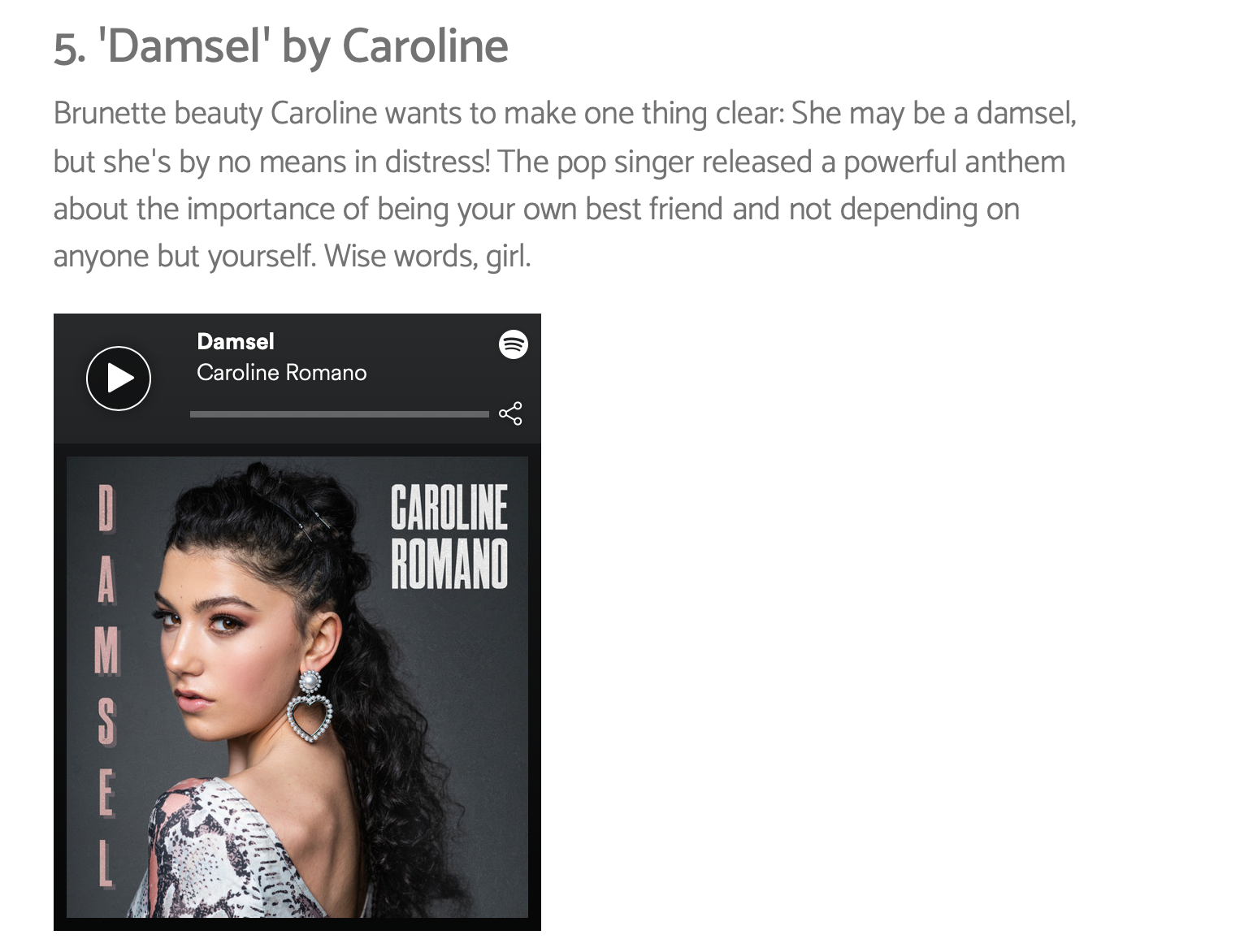 """Sweety High - """"Damsel"""" New Music Friday Feature"""