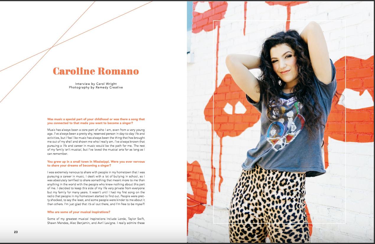 NYOTA Magazine - Interview Feature