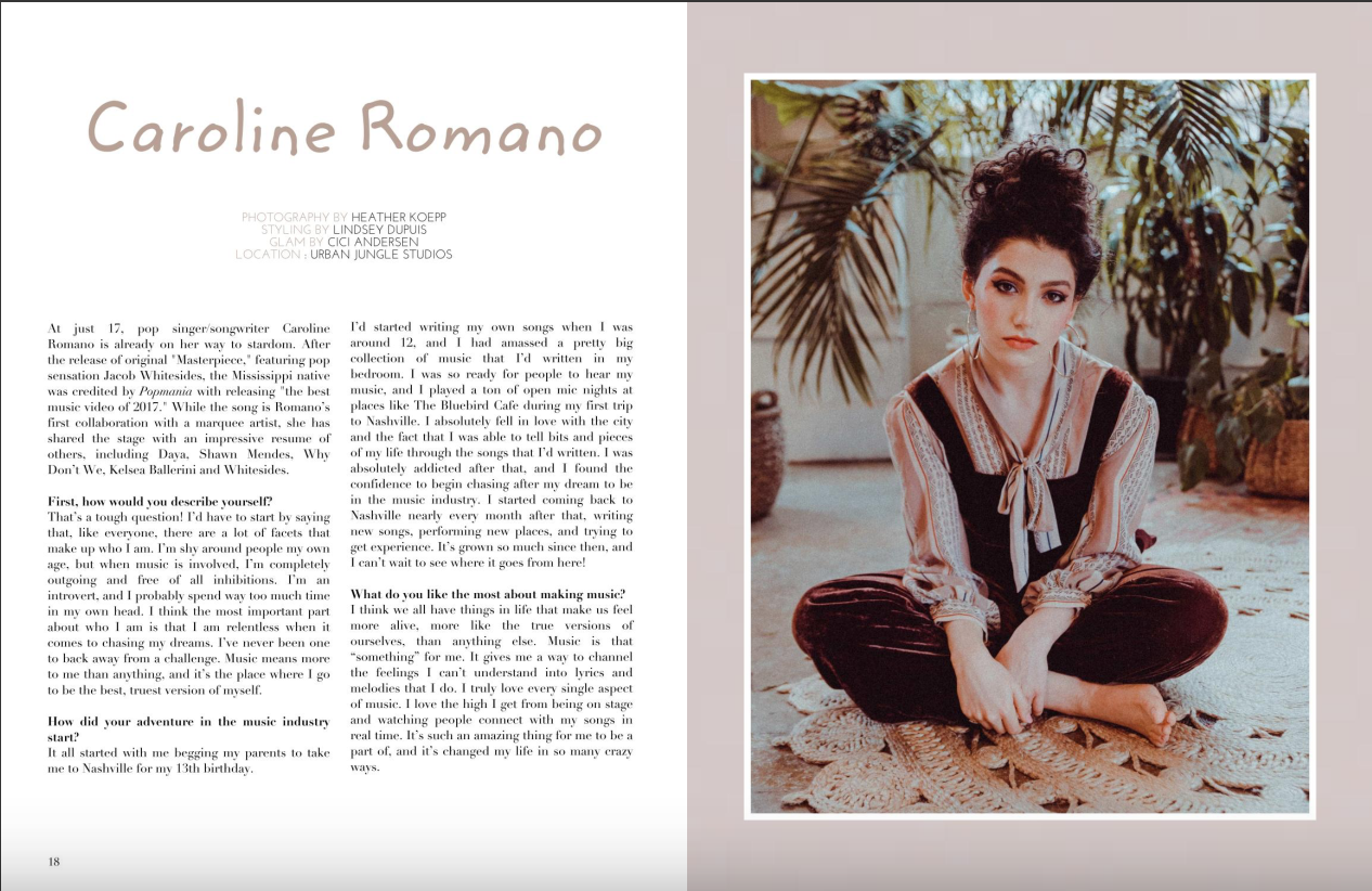Saturne Magazine - Photo and Interview Feature