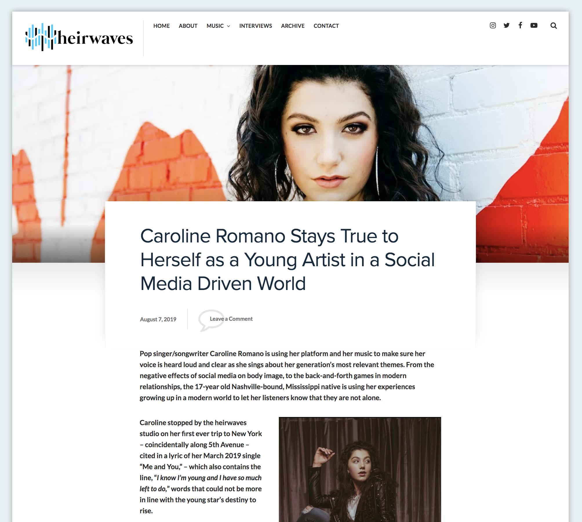 Heirwaves - Interview Feature