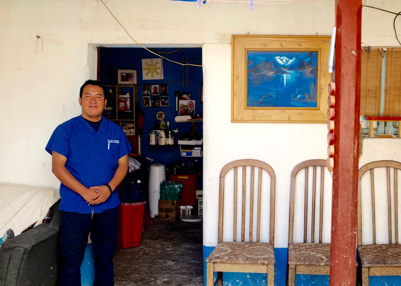 "Doctor Jose Amézquita runs a clinic in Totonicapán, where he donates his time, and patients pay what they can. ""I depend on God for all our supplies,"" he said. ""Most of it comes through Vine."""