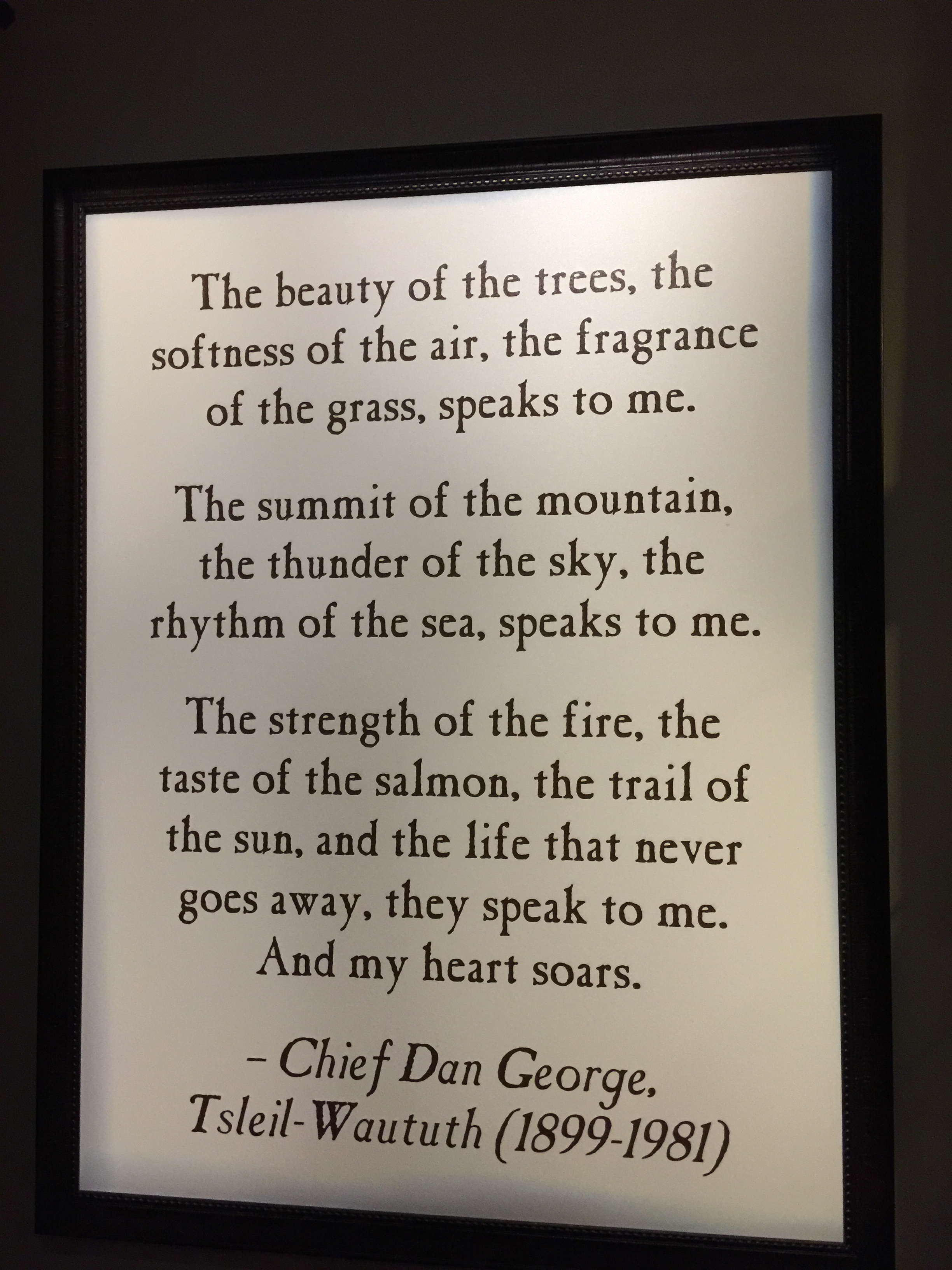 I Love This!!! - I love this! I found it on the wall of Big Cedar Lodge in Missouri last year.