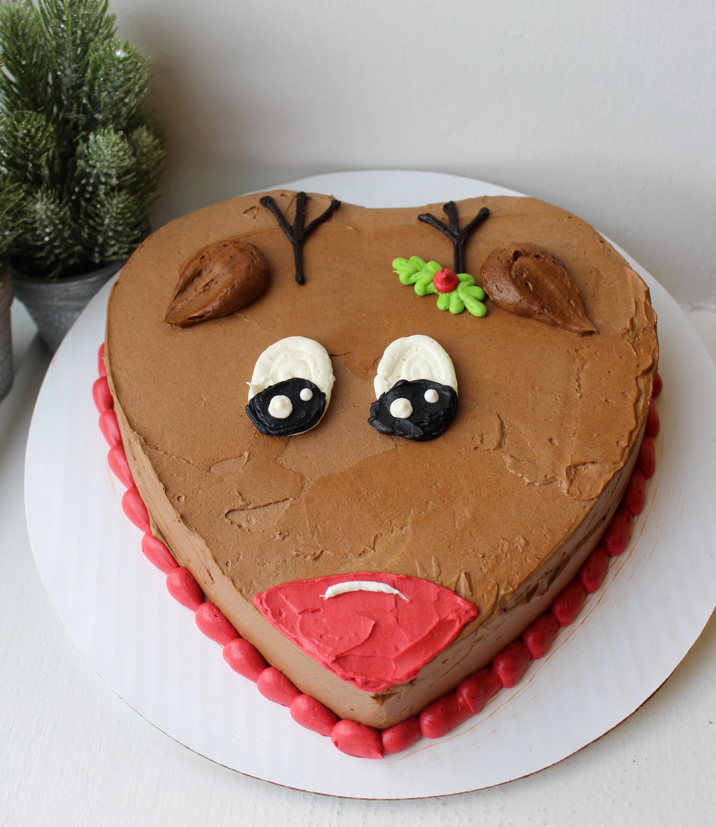 Rudolph the Reindeer Cake
