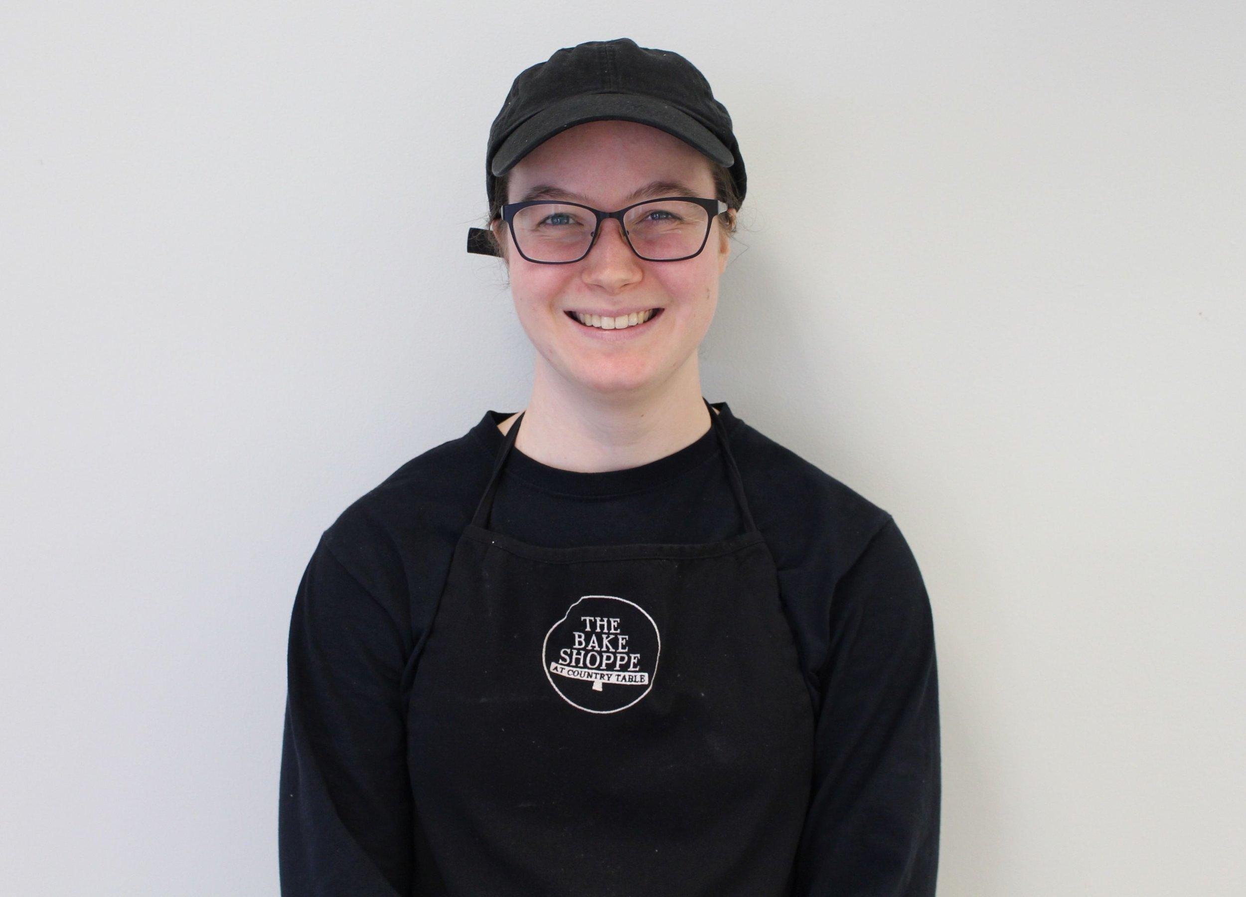 Tess - Title: Talented Baker/Sales Associate