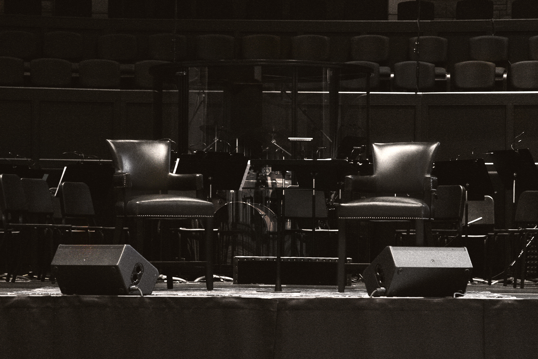 Chairs on Stage BW.jpg