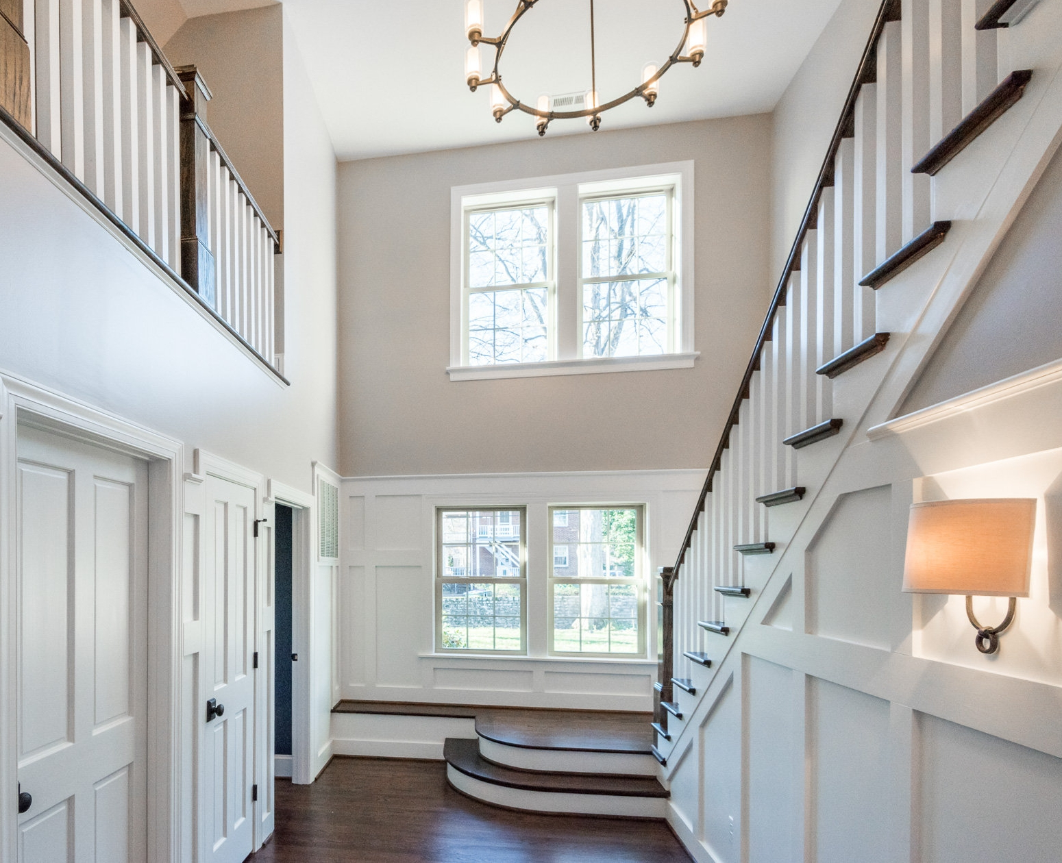 Mud room from our Queenswood Colonial.