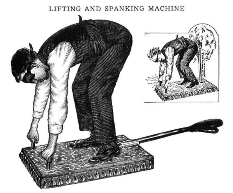 Prank Spank Machine