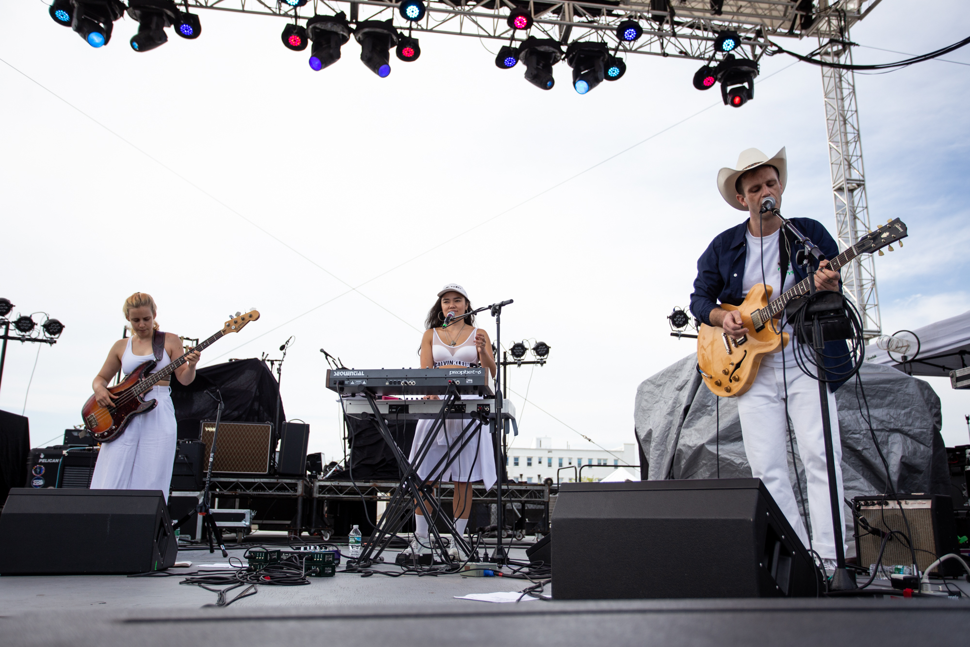 Ex-Reyes performs at Shadow of the City festival in Asbury Park, NJ on August 25, 2018.