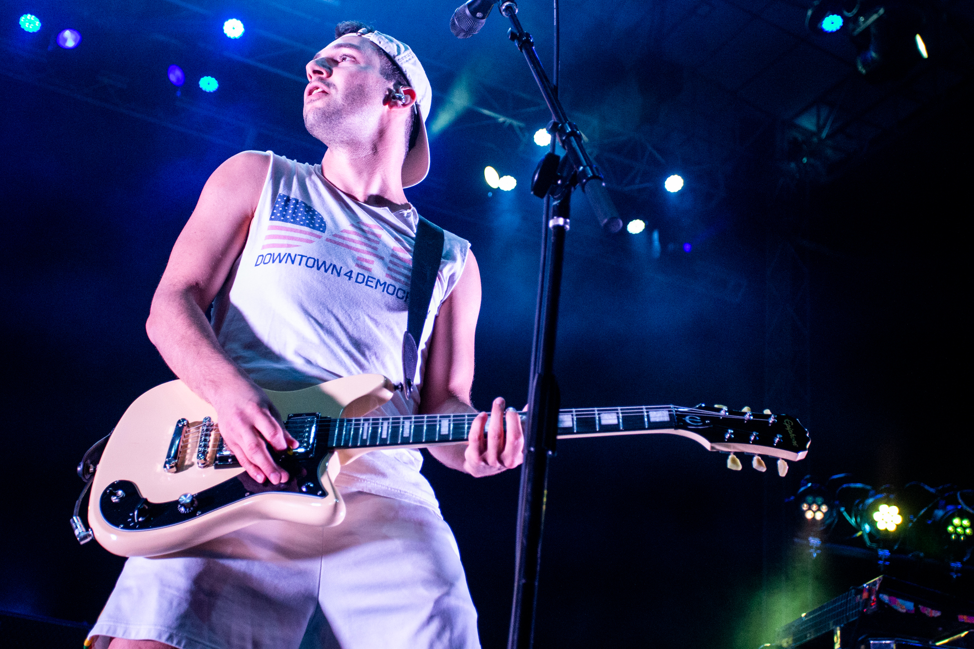 Bleachers performs at Shadow of the City festival in Asbury Park, NJ on August 25, 2018.