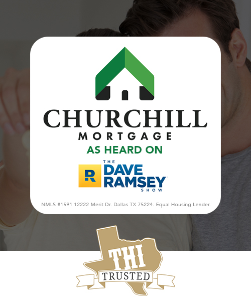 Churchill Mortgage Texas - Proud Partner of Texas Home Improvement