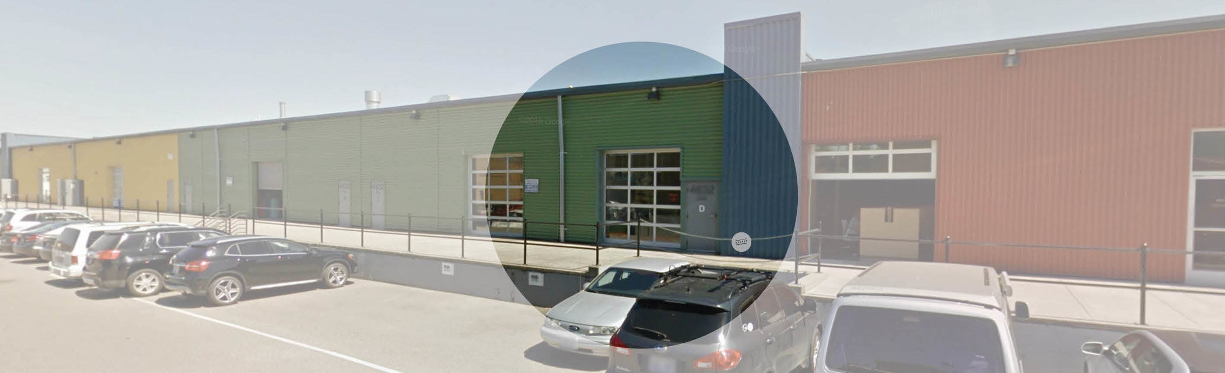 We are located behind Arena Sports SODO, just off Marginal Way. Park anywhere in front of our green building.