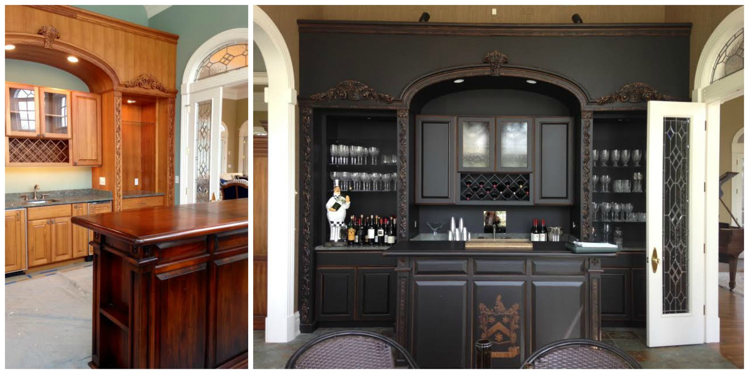 before and after gentleman's lounge