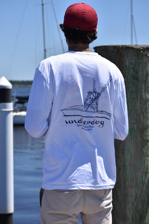 Men S Sport Tek Long Sleeve Underdog Sport Fishing Charters Creating custom long sleeve shirts is super easy! men s sport tek long sleeve underdog sport fishing charters