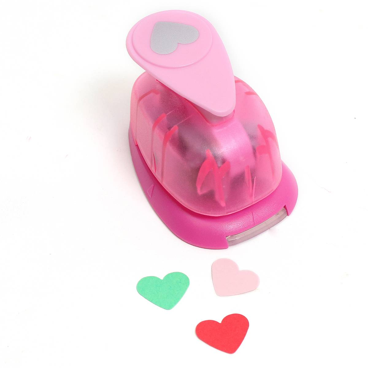 - Heart Craft Punch 0.6 inches, Hobbycraft, £2
