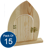 - Fairy Door, The Works £2 for 1 or £26 for 15 (Art party anyone?!)
