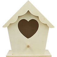 - Medium Wooden Birdhouse, The Works, £2