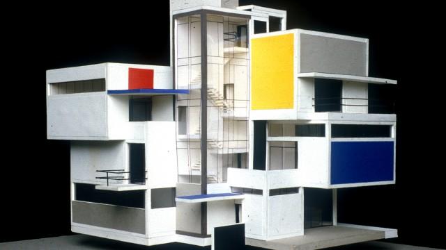 Theo van Doesburg, Model Artist House, 1923