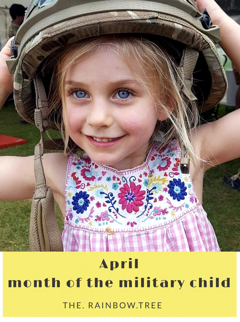 MARCH, THE MONTH OF THE MILITARY CHILD