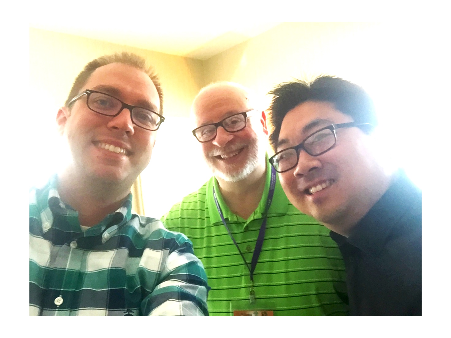 Matt Reichert, David Haas, and Zack Stachowski (2019 LA Religious Education Congress)