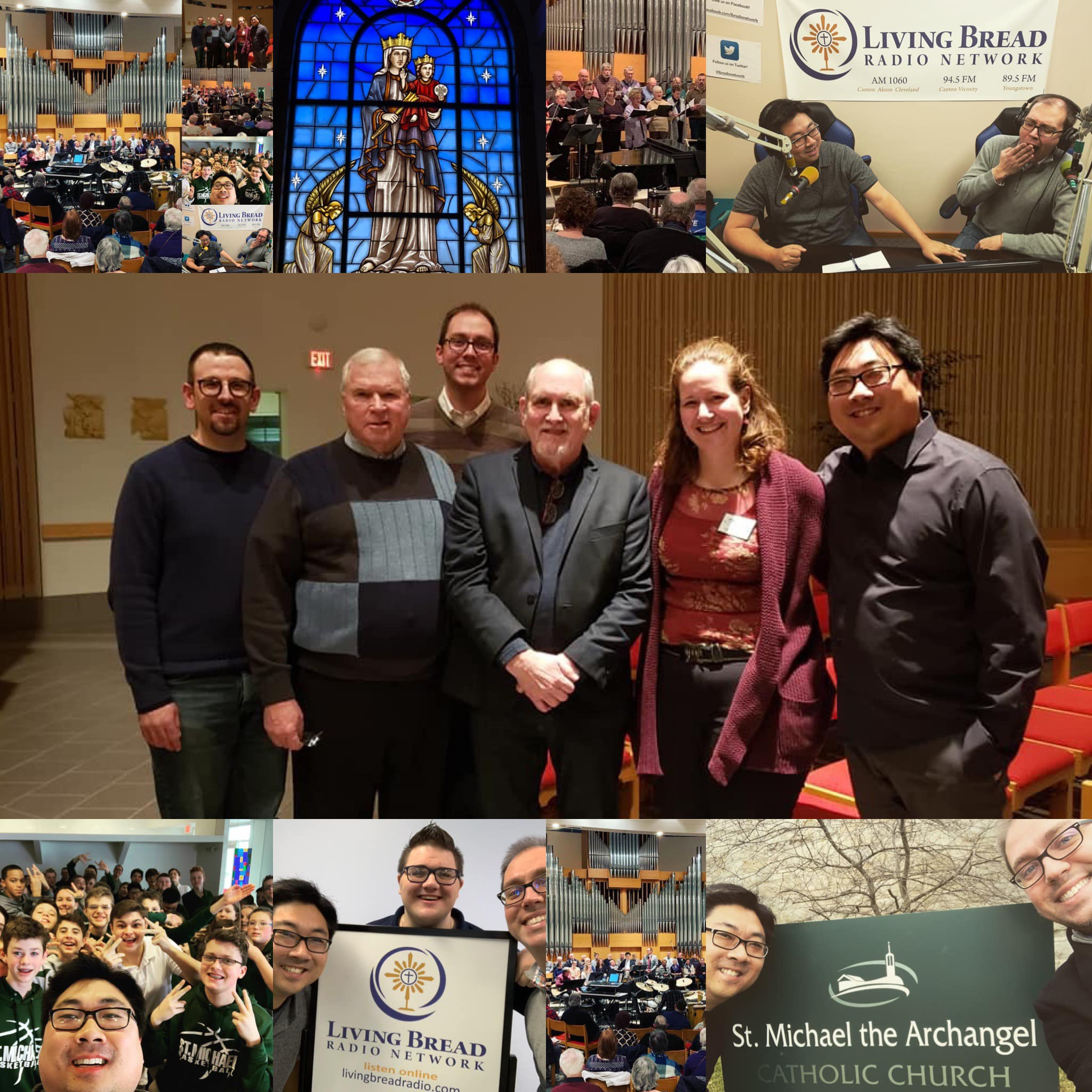 Scenes from the 2019 OYH Parish Mission in Canton, Ohio.