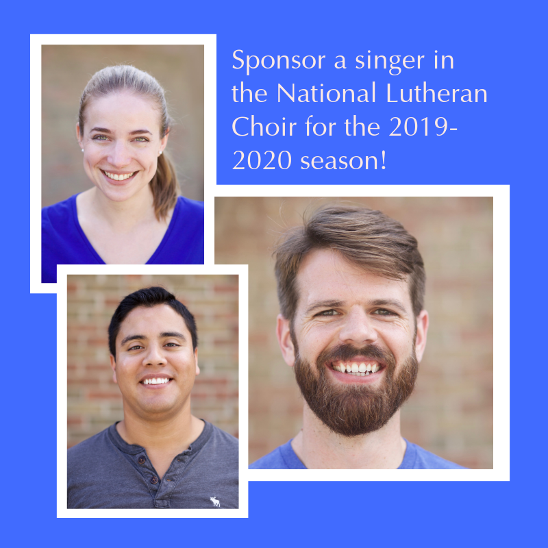 Click Here to Sponsor a Singer!