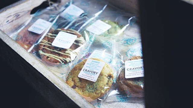 You can pick up your cookie cravings from us at all our events! Featuring @thecravory 🤤 . . #foodie #foodaffair #sandiego #love #food #cookies
