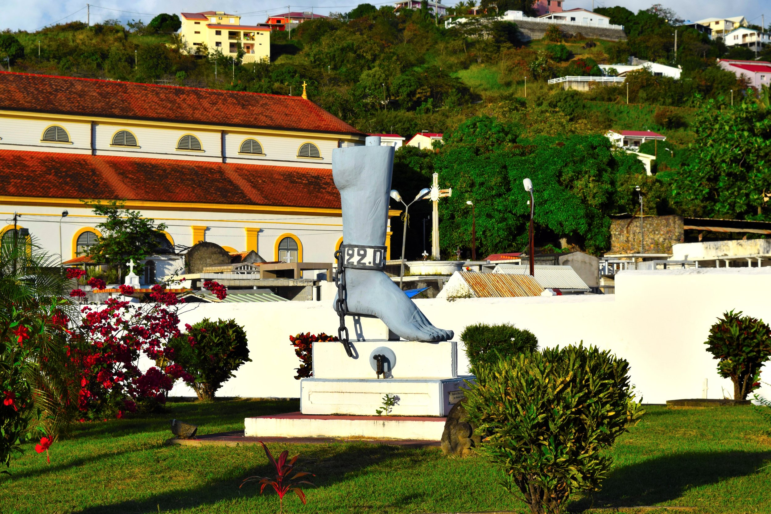 History in Martinique.