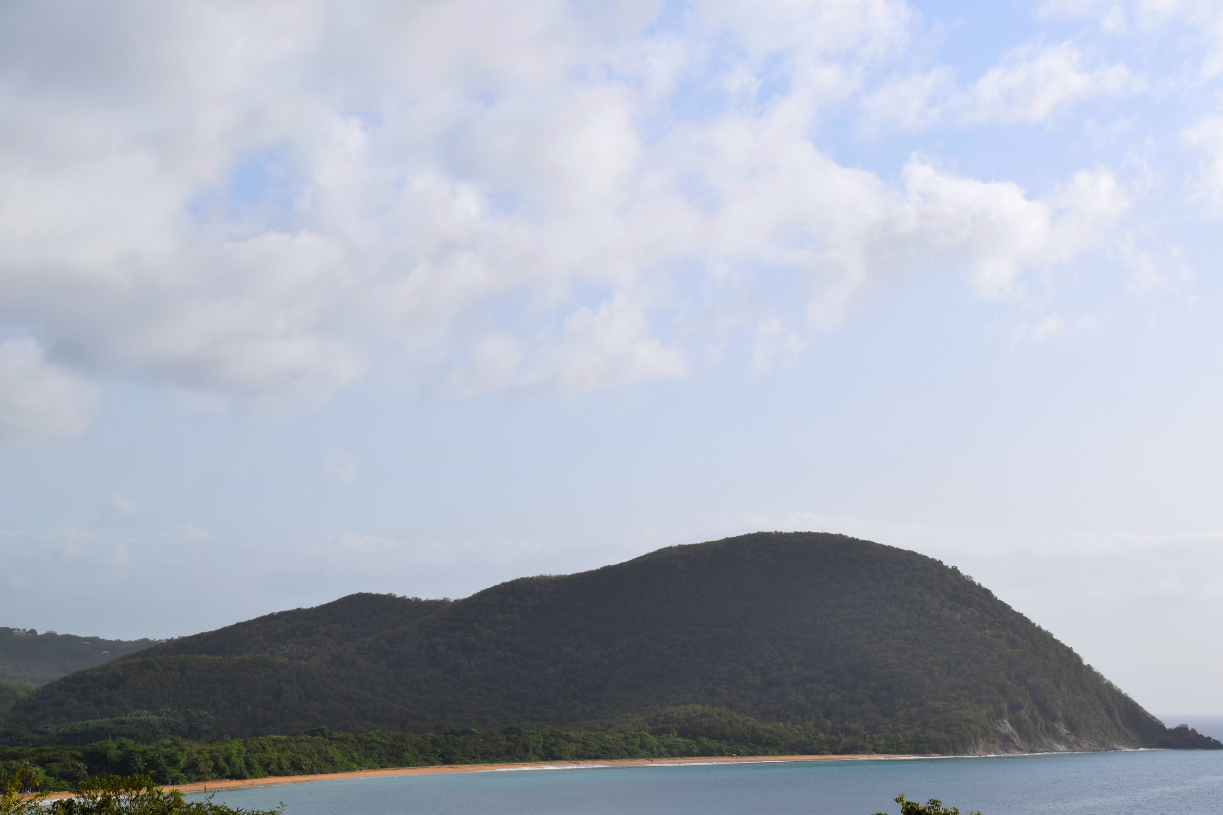 Views from Point de Vue de Gadet in Guadeloupe.