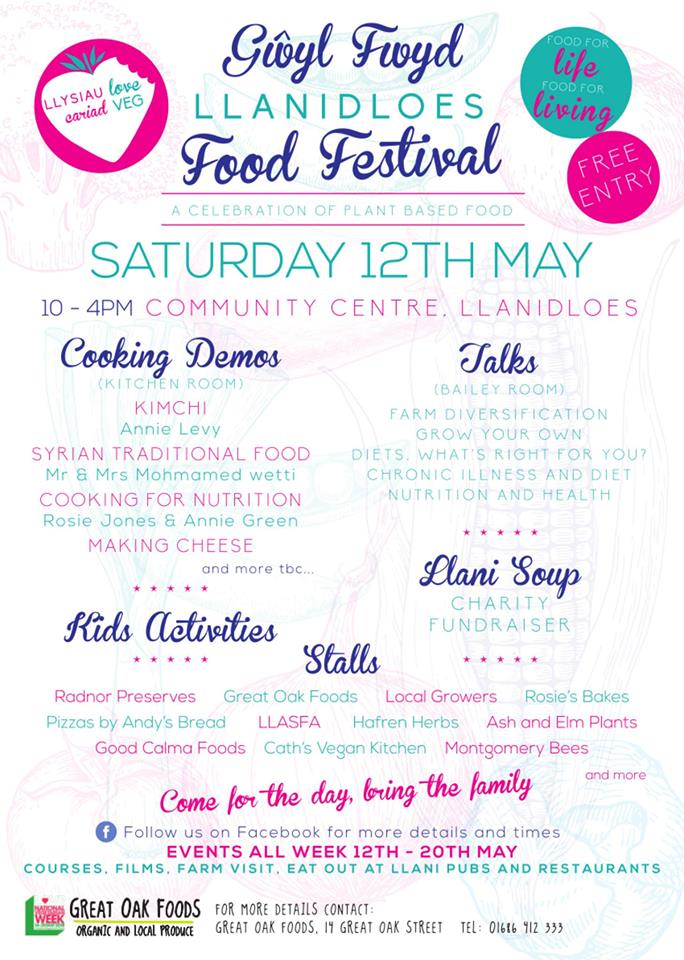Llanidloes Food Festival