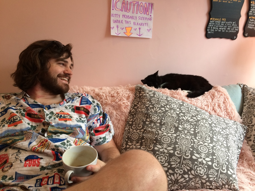Drink tea and hang with cats at Kawaii Kitty Cafe in Queen Village