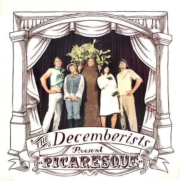 Vinyl Pairing: The Decemberists - Picaresque (2005) - One of my favorite records from college - the instrumentation is too darn pretty. Recorded in a church in the mid-aughts by Portland, indie-folk-pop rockers at a time in their career when they were striding high. Fantastic songs, including the 8 minute opus,