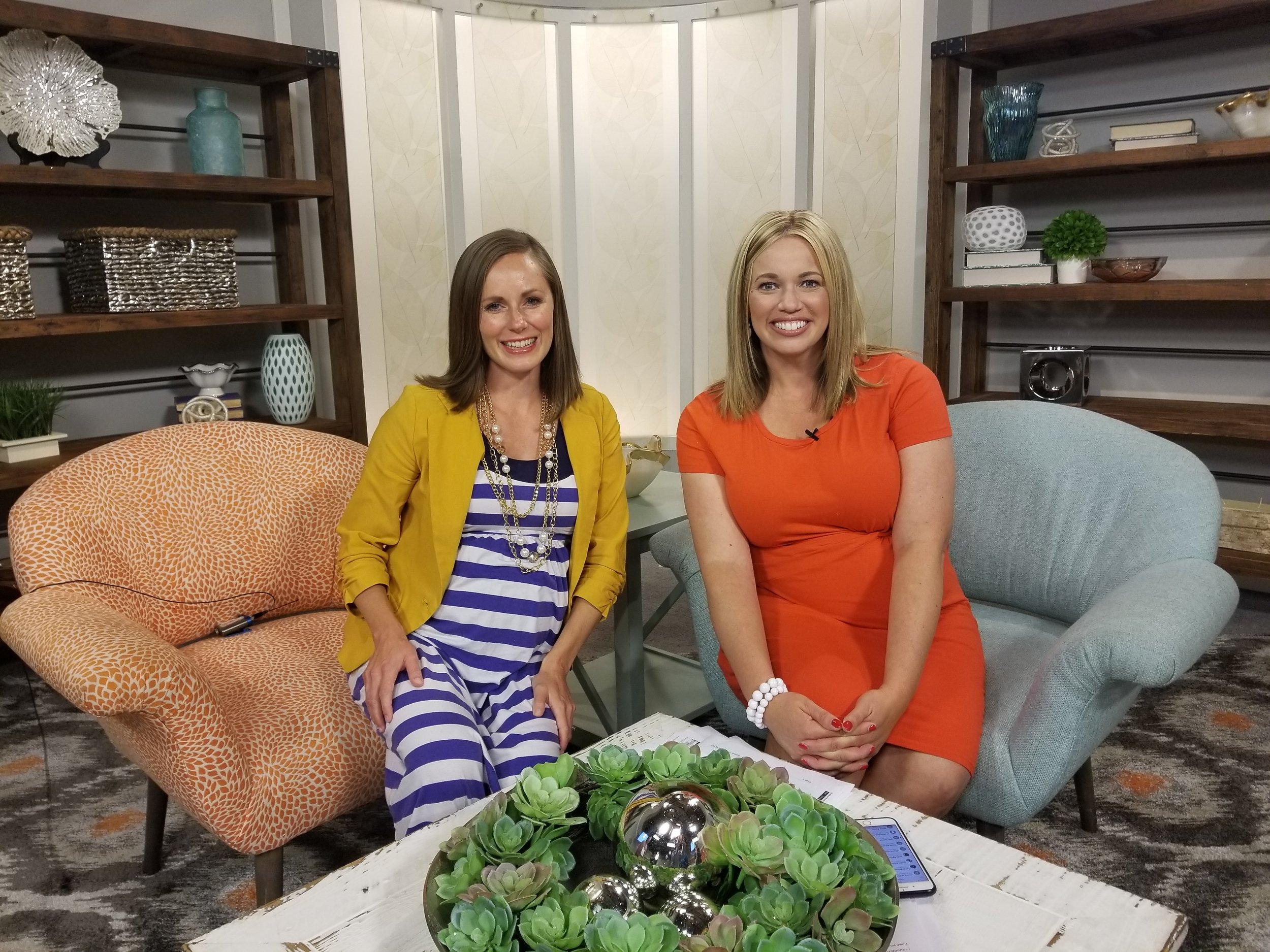 "Crystalee shares ""4 Core Needs of Mom Entrepreneurs"" on Studio 5 with Brooke Walker"
