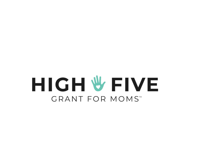 high five grant logo business grant for moms business grant for women