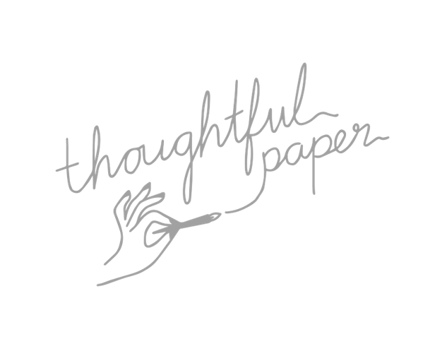 thoughtful paper logo mama spring break business retreat