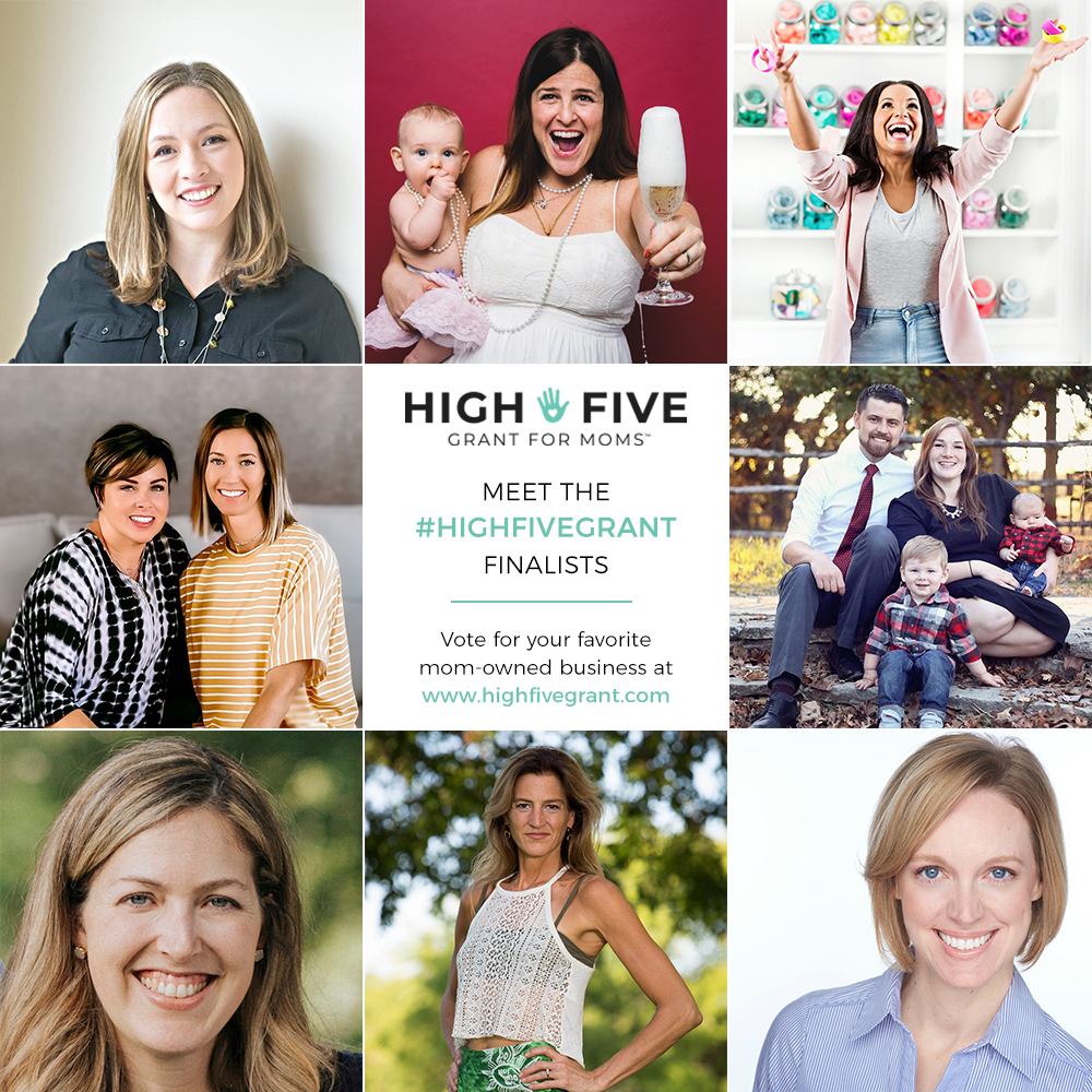 High Five Grant for Moms finalists Summer 2019