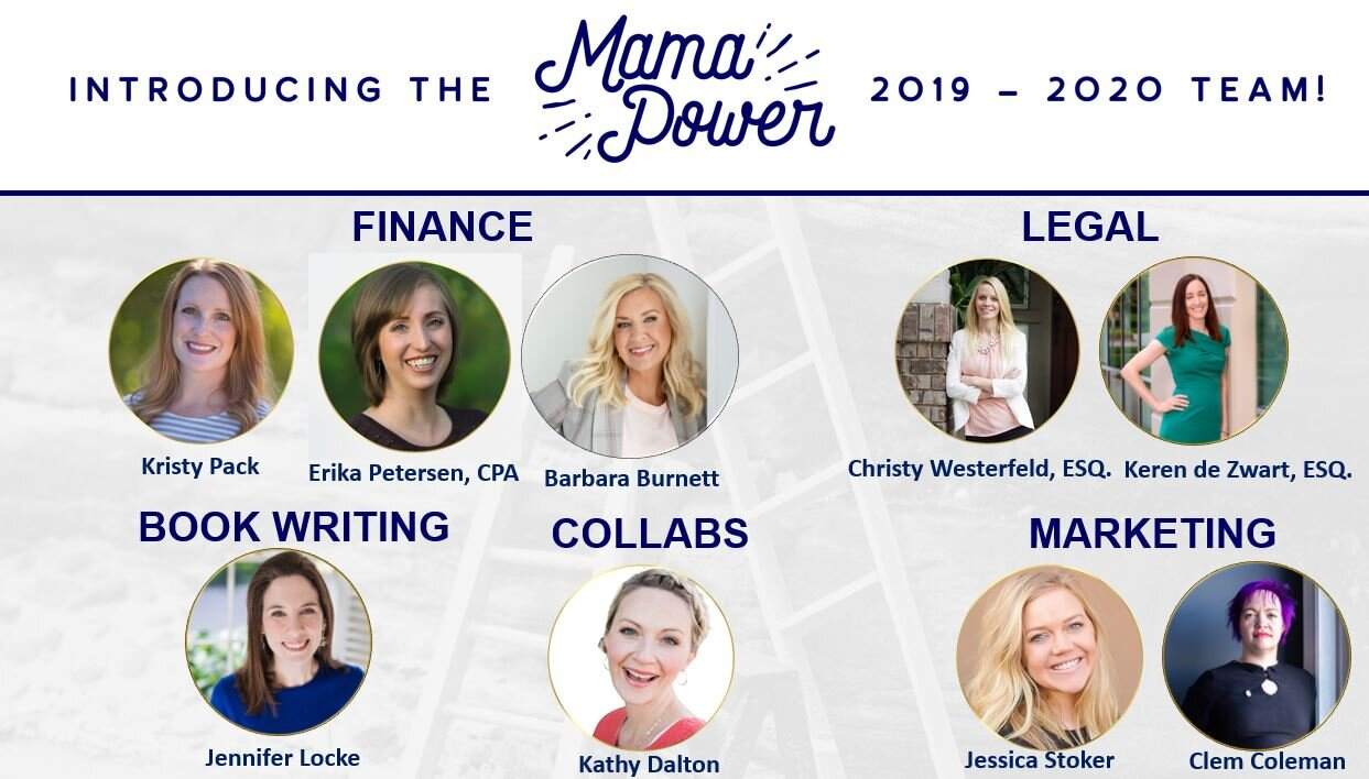 Mama Power team business program for mompreneurs