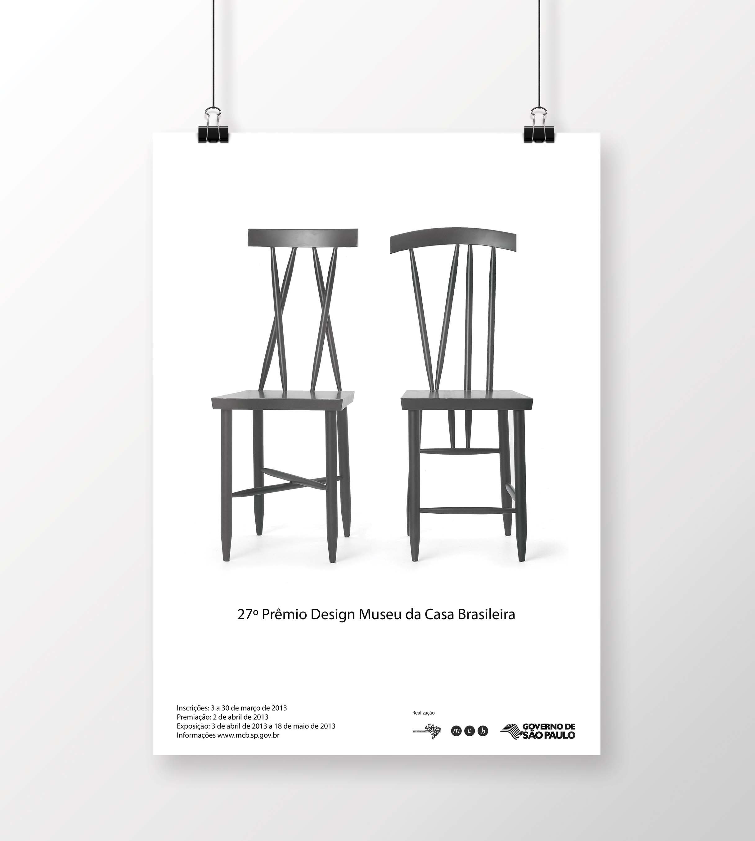 Poster mockup by  CreativeBosster.