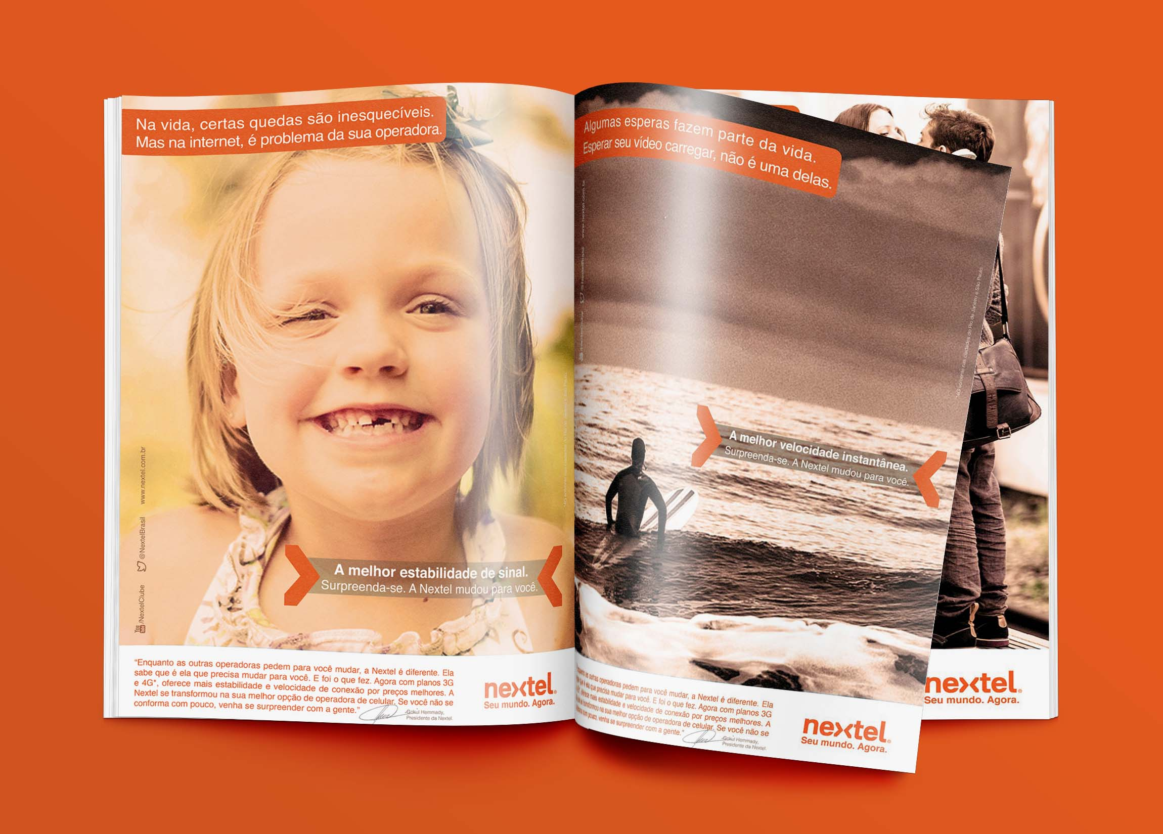Magazine mockup by  GraphicBurger.