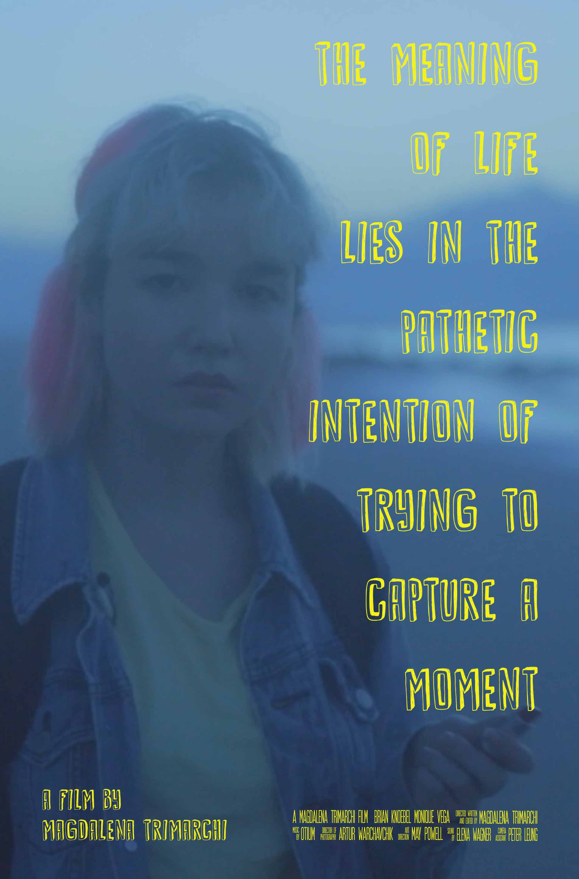 The Meaning of Life Lies in the Pathetic Intention of Trying