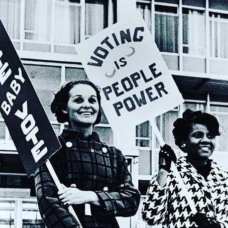 Commemorating the 19th Amendment and women gaining the right to vote! #girlpower #19thamendment #vote #nationalwomensequalityday