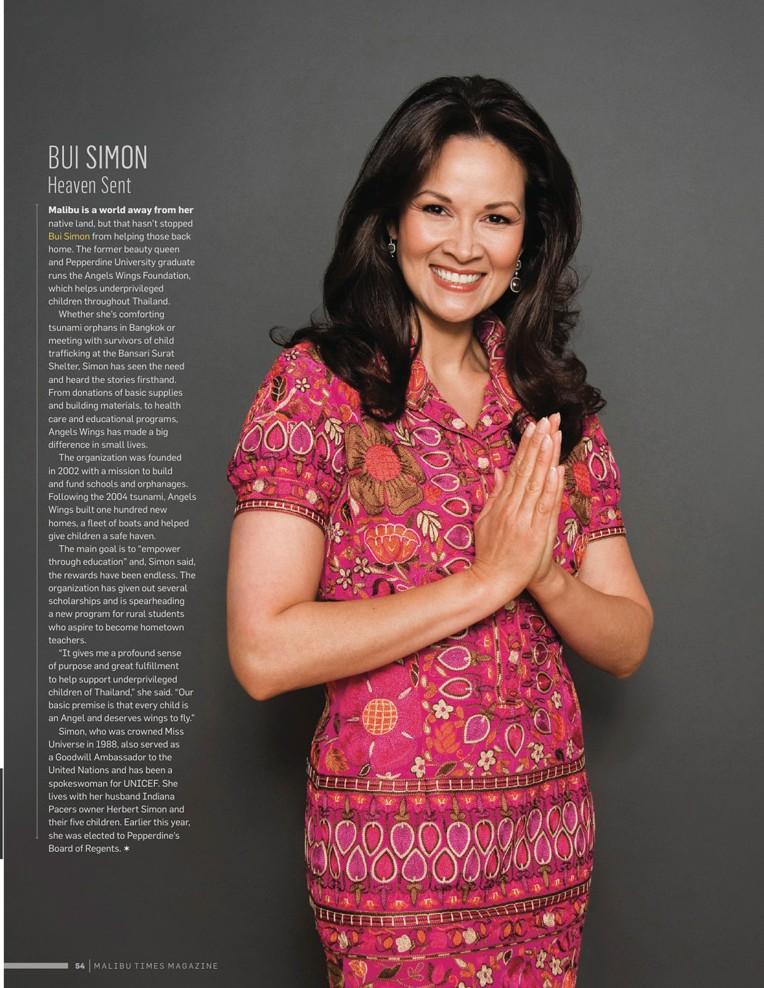 12/01/10 - Malibu Times Magazine featuring Bui Simon