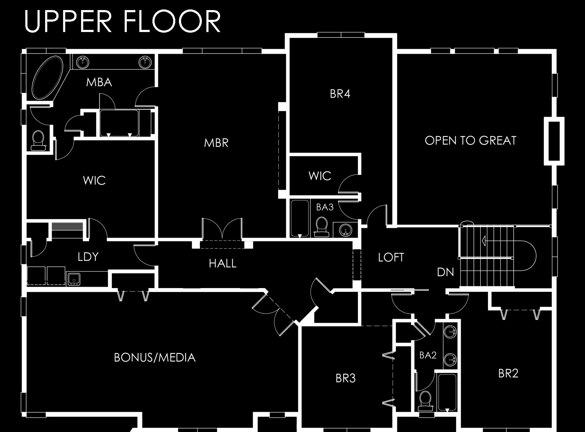 145 - 15032 NE 11th Pl- Upper Floor BLACK.jpg