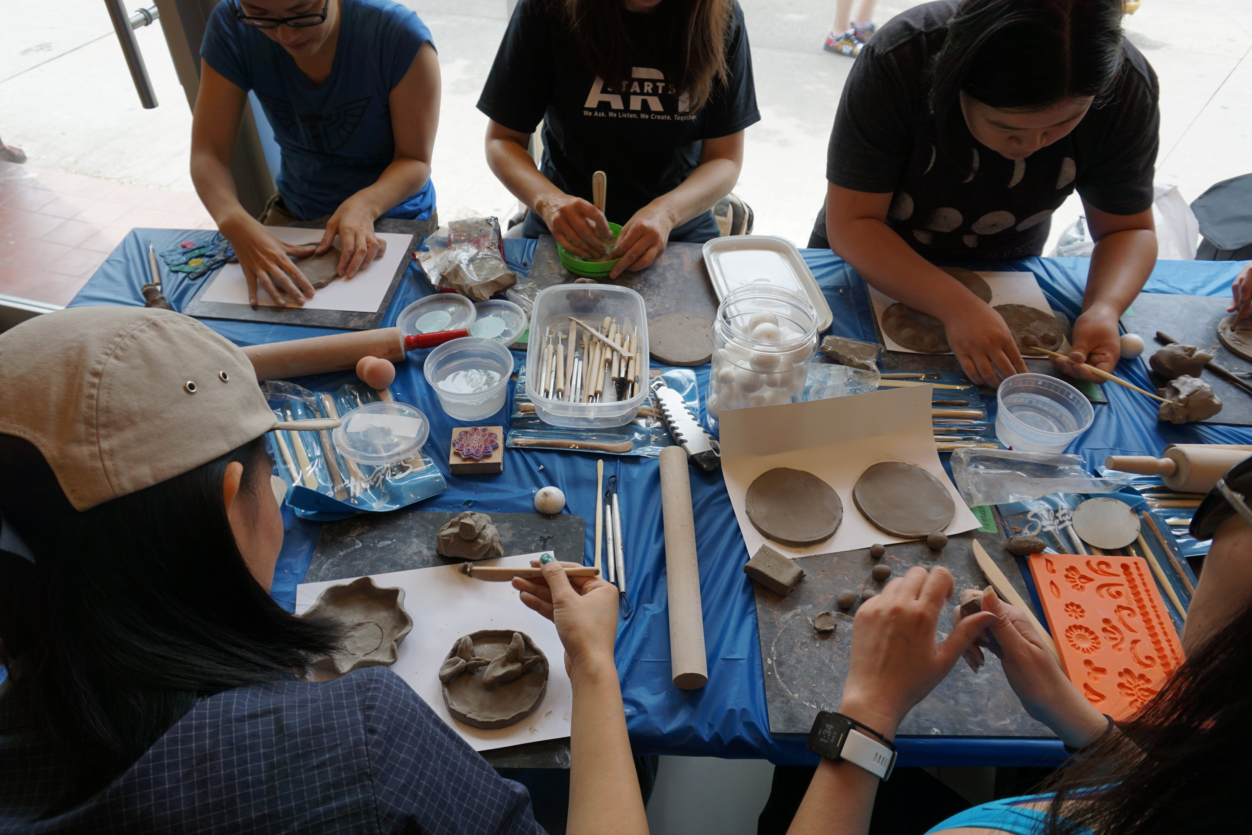 burden(some) Workshop A at Crimson Teas, ph. Mirae Lee