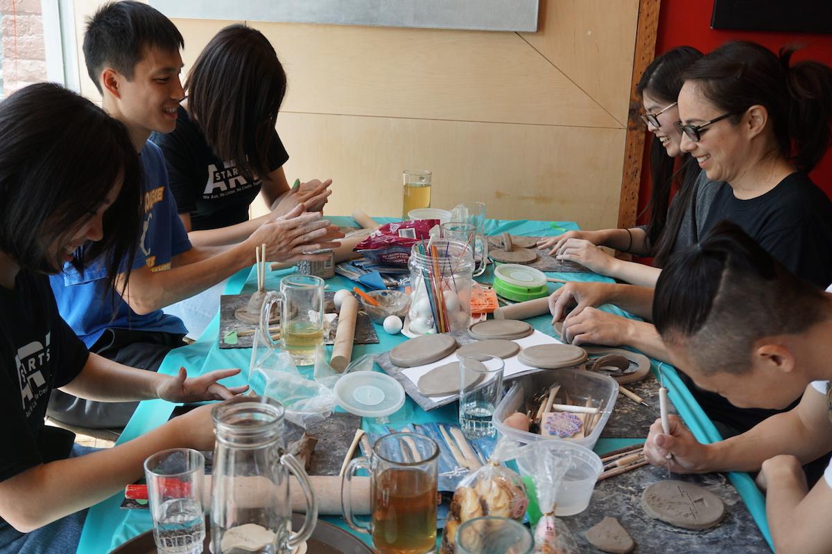 burden(some) Workshop B at Crimson Teas, ph. Anya Mielniczek