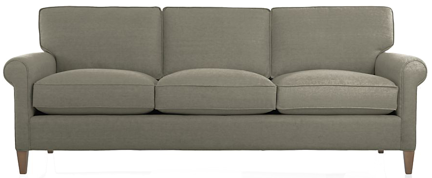 Montclair Sofa - Duet, Nickel - $1799